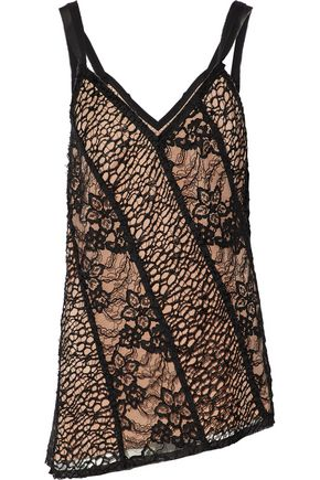 JASON WU Asymmetric corded lace top