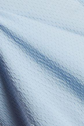 M.I.H JEANS Oversized cotton-matelassé shirt