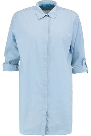 M.I.H JEANS Oversized cotton-matelassé shirt