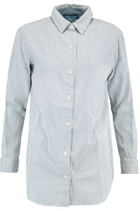 M.I.H JEANS Striped cotton shirt