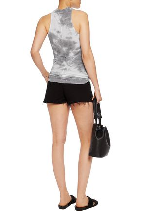 ENZA COSTA Ribbed stretch-jersey tank