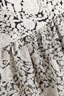 CINQ À SEPT Yelena asymmetric printed silk-chiffon top