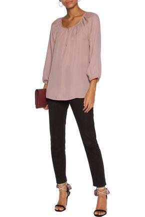 JOIE Priscilla silk-chiffon blouse