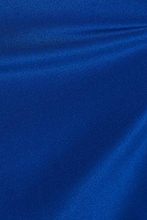 CUSHNIE ET OCHS Cutout silk-crepe blouse