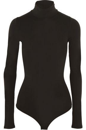 THEORY Stretch-jersey turtleneck bodysuit