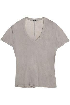 MONROW Cotton-jersey T-shirt