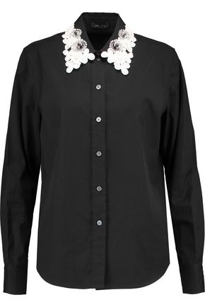 MARC BY MARC JACOBS Appliquéd cotton shirt