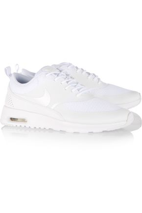 NIKE Air Max Thea mesh and leather sneakers