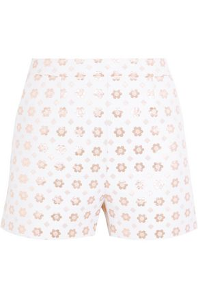 MARKUS LUPFER Rosannah cotton-blend jacquard shorts