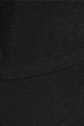 TIBI Savanna cutout crepe turtleneck top