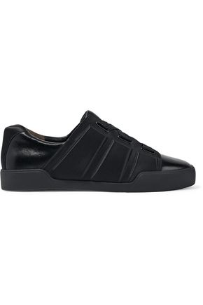 3.1 PHILLIP LIM Morgan embossed printed leather sneakers