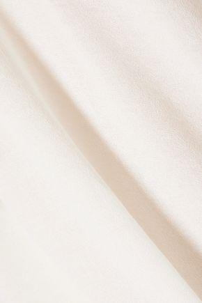 MAJE Bead-embellished crepe top