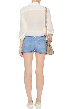 CURRENT/ELLIOTT The High Waist denim shorts