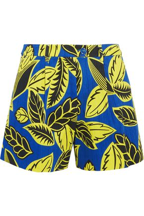 BOUTIQUE MOSCHINO Printed cotton-blend shorts