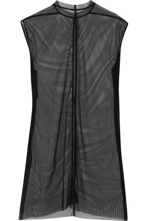 RICK OWENS Stretch-mesh top