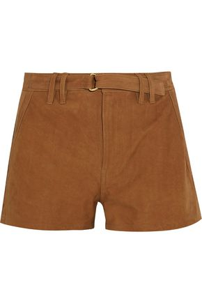 FRAME Suede shorts