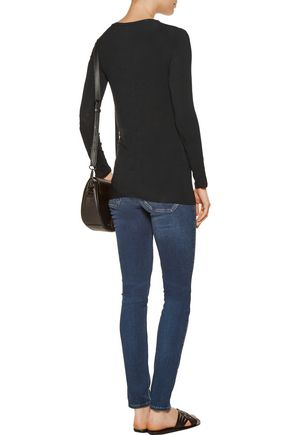 ENZA COSTA Knotted jersey top