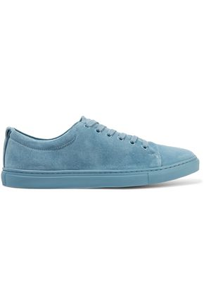 SANDRO Suede sneakers