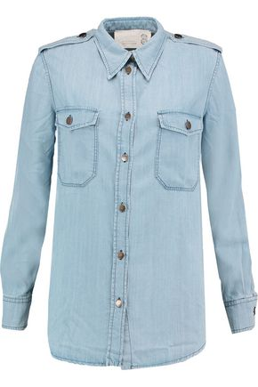 Tencel-chambray shirt