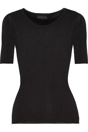 Amanda ribbed-knit sweater