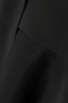 JONATHAN SIMKHAI Draped stretch-crepe top
