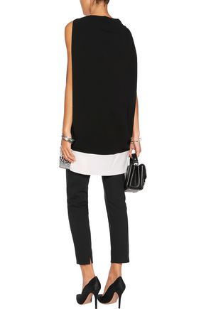 VIONNET Embellished crepe top