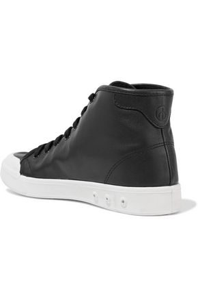 RAG & BONE Leather high-top sneakers
