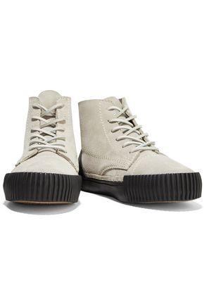 ALEXANDER WANG Perry suede sneakers