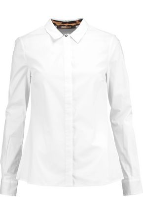 ROBERTO CAVALLI Cotton-blend shirt