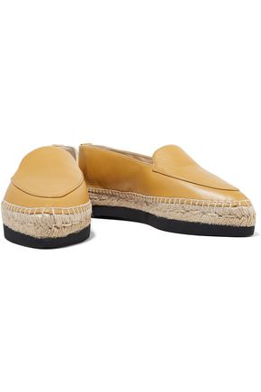 PALOMA BARCELÓ Donatella leather platform espadrilles