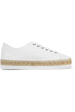 PALOMA BARCELÓ Orlanda leather espadrille sneakers