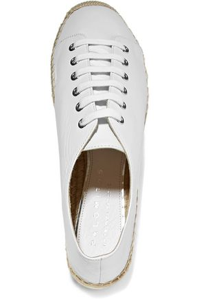 PALOMA BARCELÓ Orlanda leather espadrille sneakers