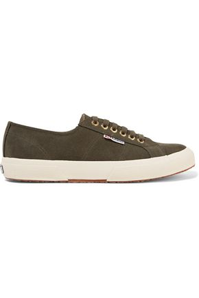 SUPERGA® Suede sneakers