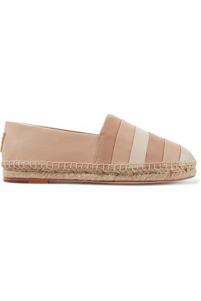OPENING CEREMONY Ariahna color-block leather espadrilles