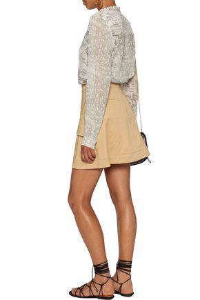 ROBERTO CAVALLI Printed silk-chiffon blouse