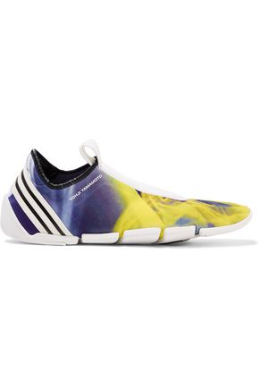 Y-3 + adidas Originals Mei LL printed neoprene slip-on sneakers