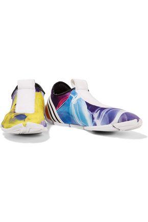 Y-3 + adidas Originals Mei LL printed neoprene slip-on sneakers