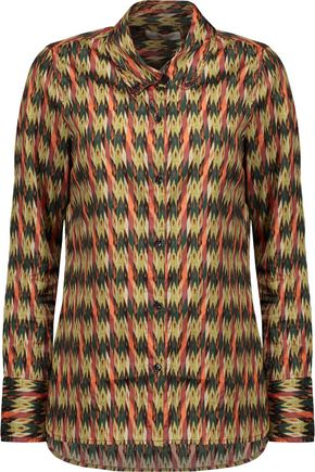 ISABEL MARANT ÉTOILE Gaetan printed cotton shirt
