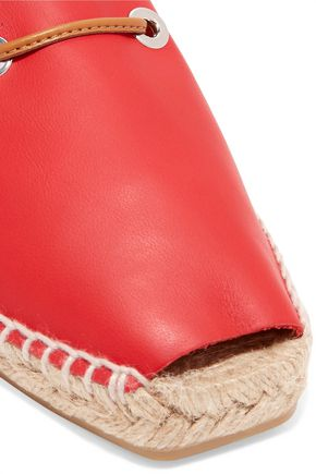 CASTAÑER Paulina leather espadrilles