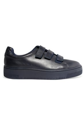 SANDRO Paris Accept leather sneakers