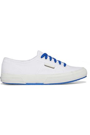 SANDRO + Superga canvas sneakers