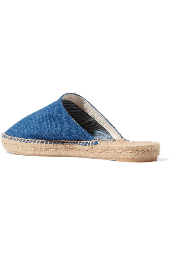 Kadla denim espadrille slippers | CASTAÑER | Sale up to 70% off | THE OUTNET