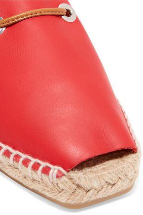 CASTAÑER Leather espadrilles