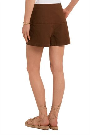SEE BY CHLOÉ Stretch-cotton twill shorts