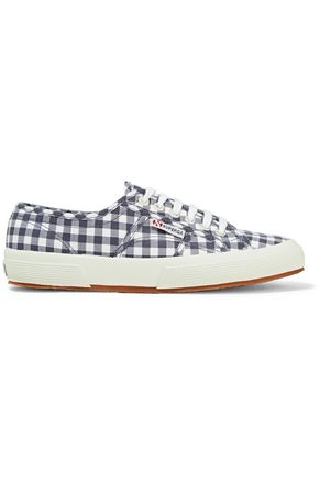 SUPERGA® Gingham canvas sneakers
