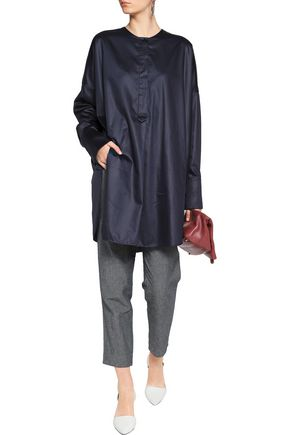 JIL SANDER Cassiopea oversized cotton shirt