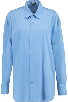JIL SANDER Clara stretch cotton-blend shirt