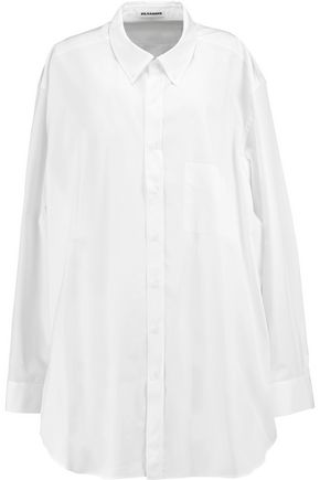 JIL SANDER Claudia oversized cotton shirt