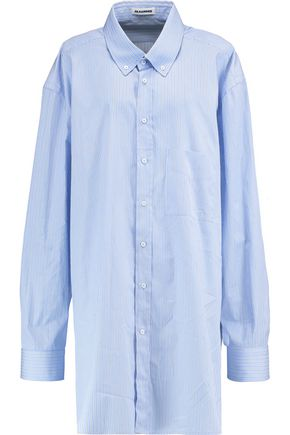 JIL SANDER Striped cotton shirt