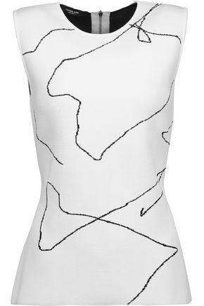 DEREK LAM Calder intarsia-knit top